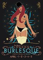 London Burlesque Festival 2009 poster