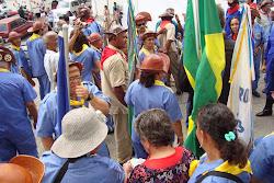 Mobilização dos bacamarteiros no Encontro Zé da Banha