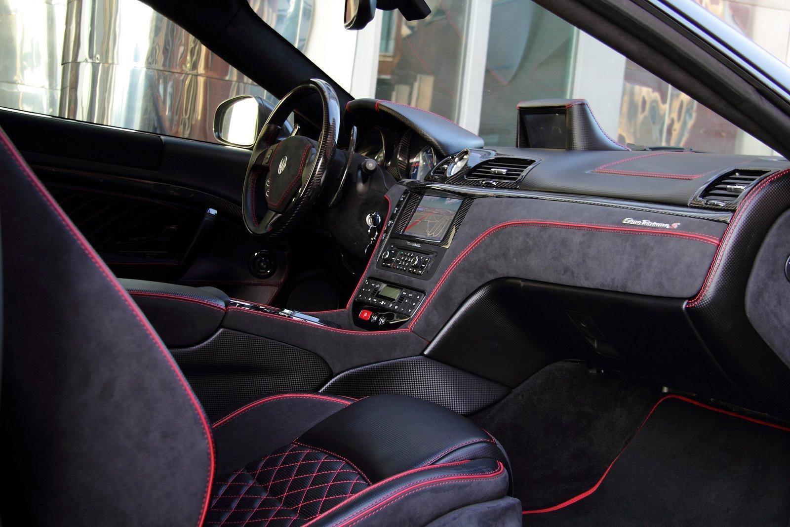2011 anderson germany maserati gran turismo s superior black auto car - Turismo interior ...