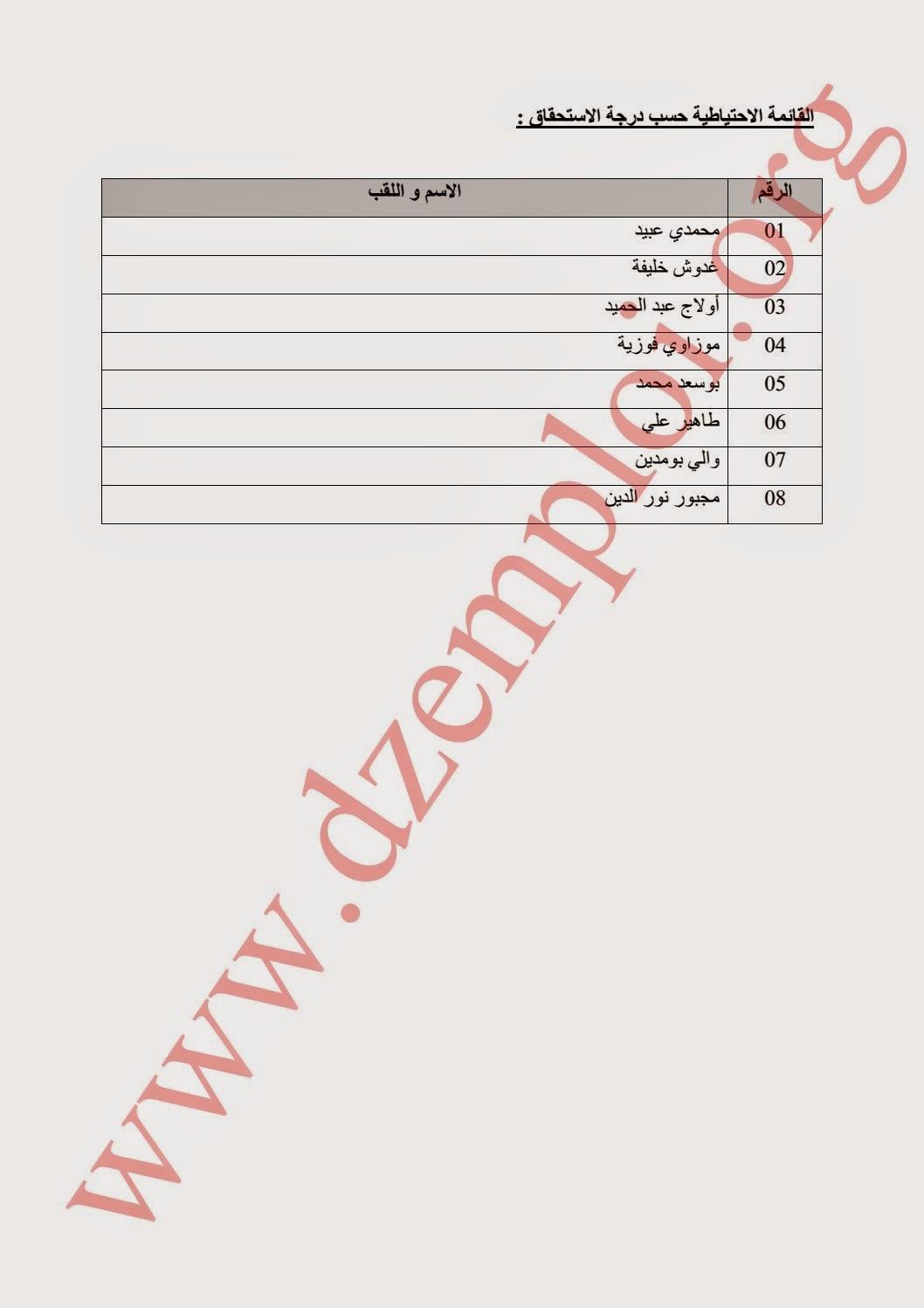 قائمة المترشحين الناجحين نهائيا في مسابقة وزارة الخارجية الخاصة برتب الأسلاك المشتركة 2014 9.jpg