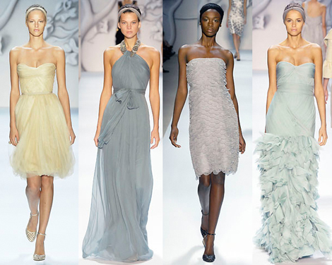 Monique Lhuillier Evening Dresses