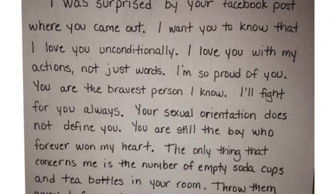Ramblings by alexis moms letter to gay son after he comes out on a moms letter to her gay son after his facebook post coming out has gone viral and the touching note is a sweet example of motherly love spiritdancerdesigns Choice Image