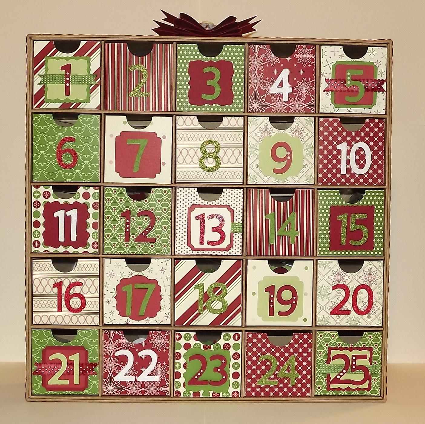 Christmas Advent Calendars Calendar Template 2016