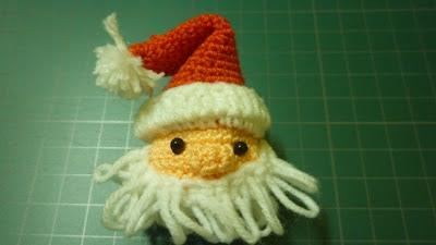 crochet santa free christmas pattern cute gift