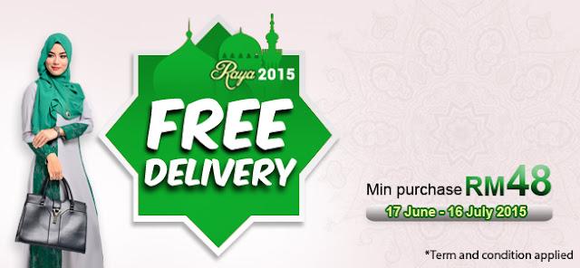 raya giveaway : jualan meletop raya 2015