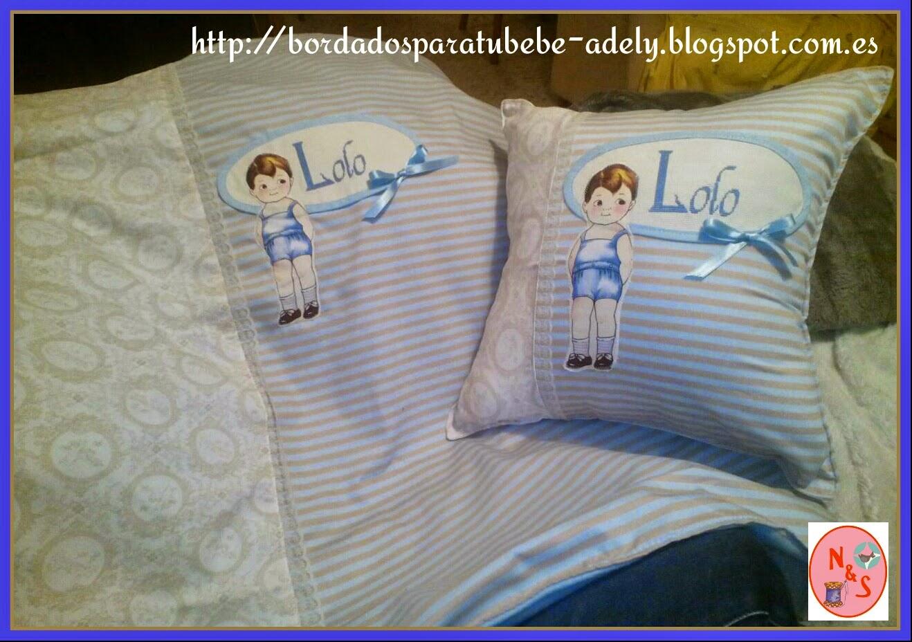 Regalos originales infantiles personalizados bordados - Cojines infantiles originales ...