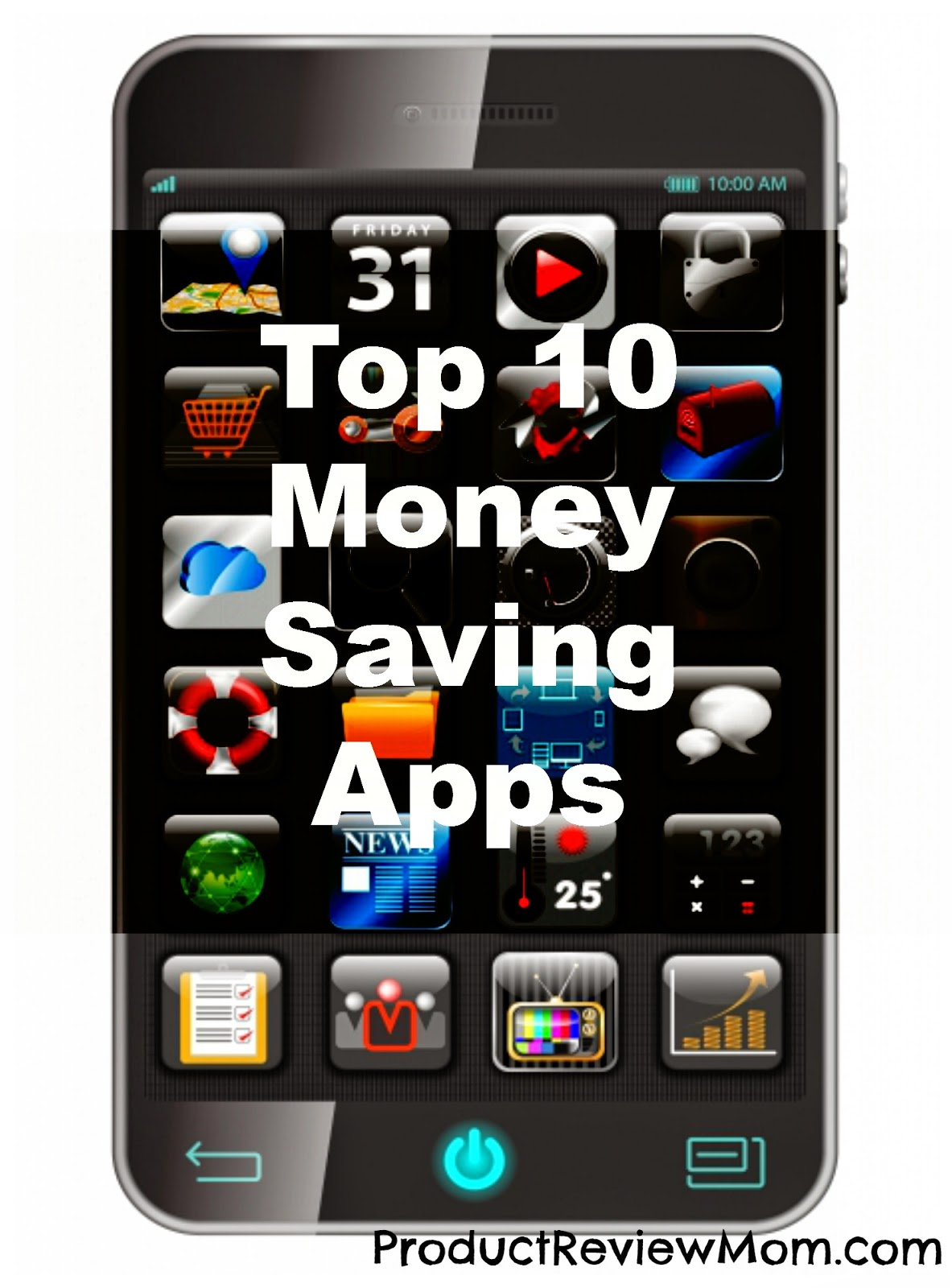 Top 10 Money Saving Apps #MoneySavingApps