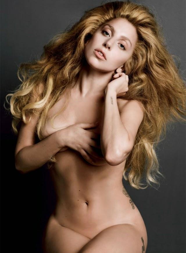 2 de las fotos más sexys de Lady Gaga