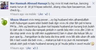 vivix bantu suami jadi power