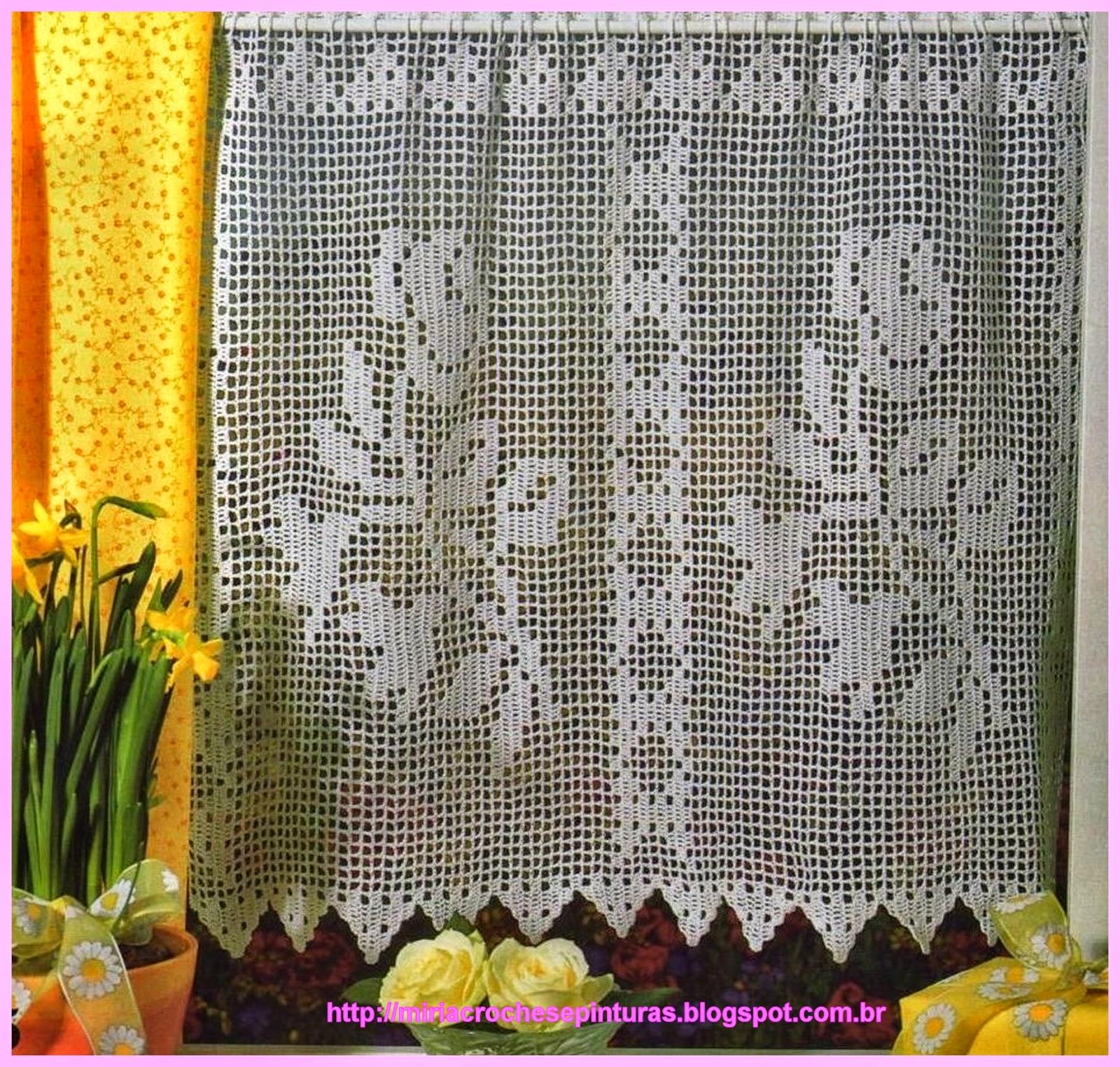 Modelos bandos cortinas croche 11 best images about - Bandos para cortinas ...