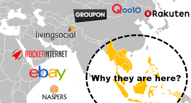 Why major e-commerce players are in Southeast Asia?