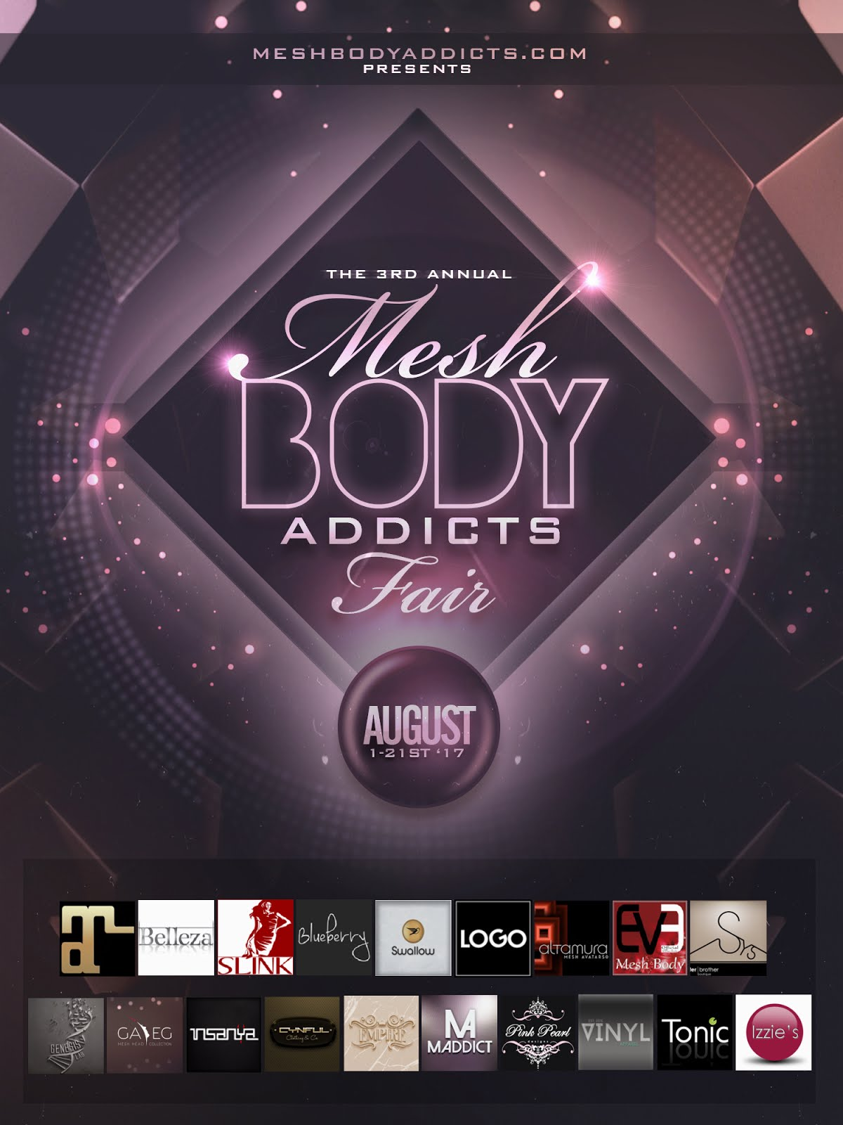 Mesh Body Addicts Fair 💋