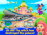 Enchanted Castle Design Witch