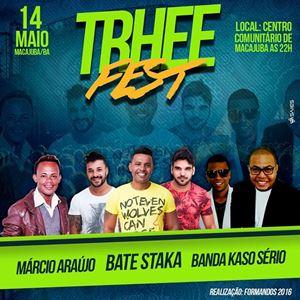 TRHEE FEST em Macajuba