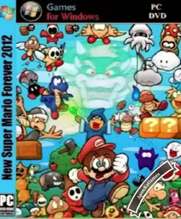 New Super Mario Forever 2012 Cover, Poster