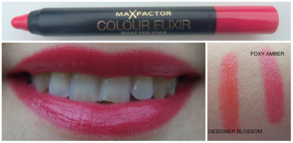 MAX FACTOR Giant Pen Stick in Foxy Amber SWATCHES