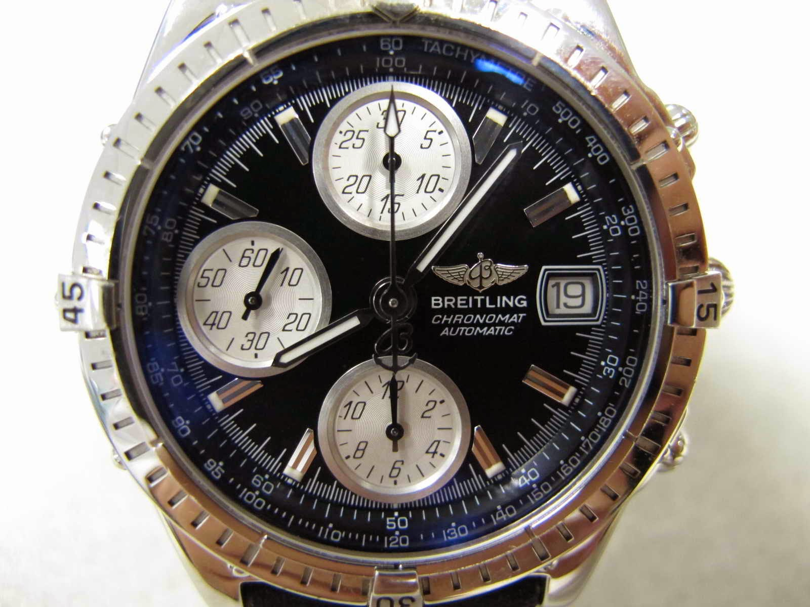 Cocok untuk Anda seorang BREITLING Mania yang sedang mencari jam tangan BREITLING CHRONOMAT Automatic macam ini