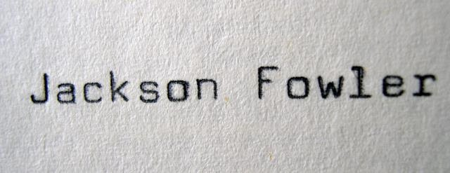 Jackson Fowler Handmade Leather