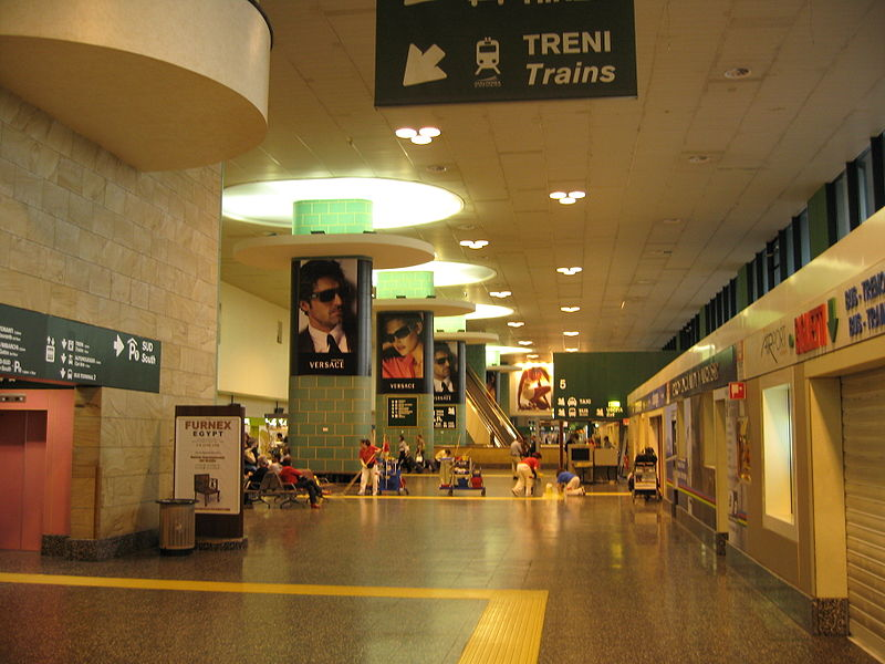 how to get from milan airport to train station