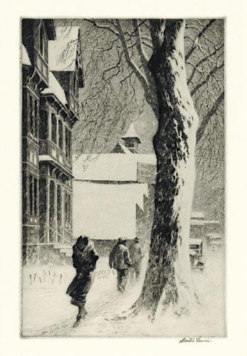 Doctor Ojiplático. Martin Lewis. New York printmaker. Grabados | Prints