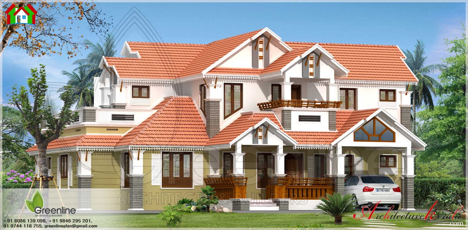 2500 Square Foot House Plans Kerala House And Home Design