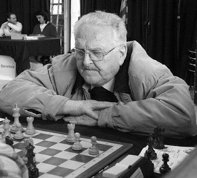 El ajedrecista Joan Segura en 2012