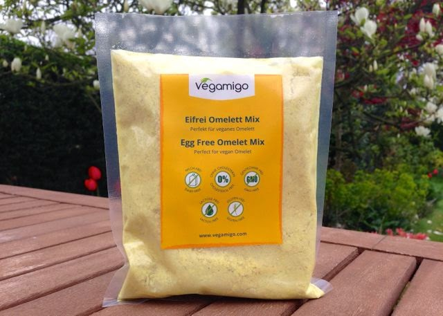 Vegamigo Egg-Free Omelette Mix for vegan omelettes