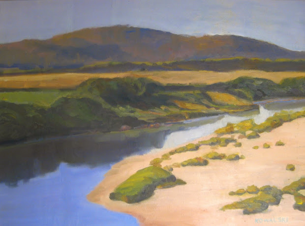 River Near Richmond (Winner, Alden Bryan Prize for Traditional Landscape)