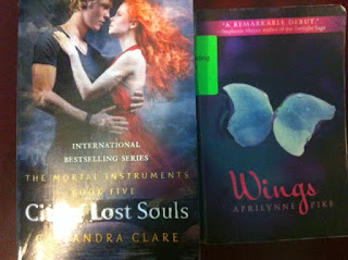 city of lost souls cassandra clare wings aprilynne pike