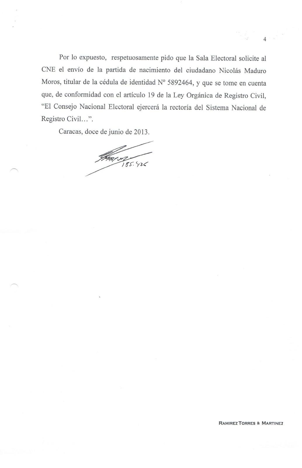 Centinelas de Venezuela: junio 2013
