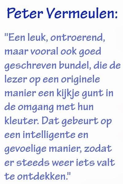 Peter Vermeulen over Zoon met een gebruiksaanwijzing: