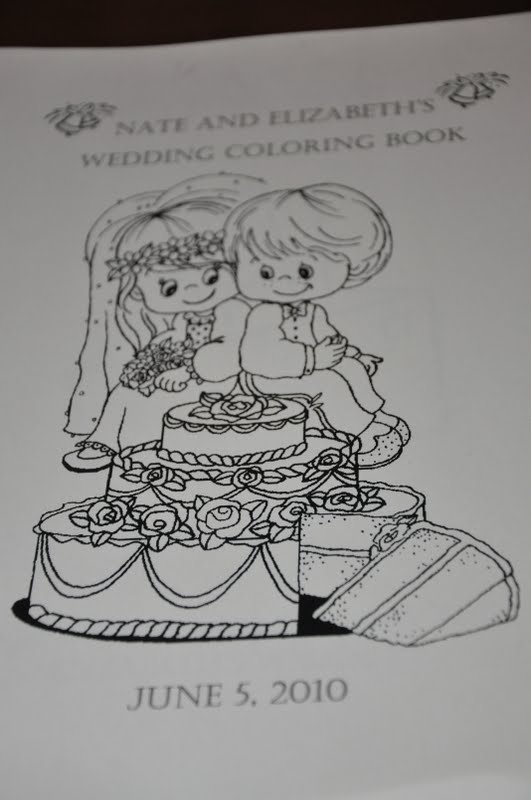 Our Wedding So I Wanted Them To Feel Special And Thought That Receiving A Coloring Book Would Be Fun Way For Look Forward The Festivities