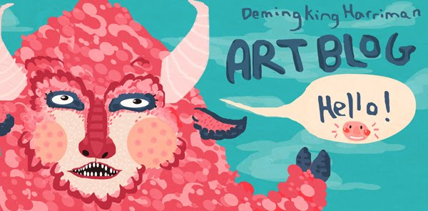 Deming King Harriman Art Blog