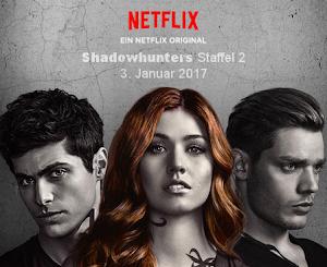 Shadowhunters Staffel 2 startet am 3. Januar 2017 auf Netflix