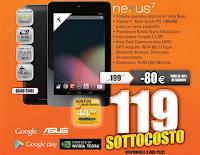 Volantino offerte Expert - Nexus 7 2012