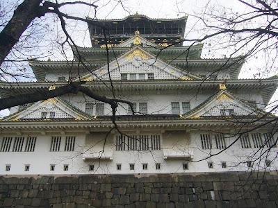 大阪城公園散歩 大阪城