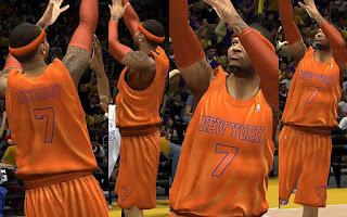 NBA 2K13 New York Knicks Christmas Jersey Patch