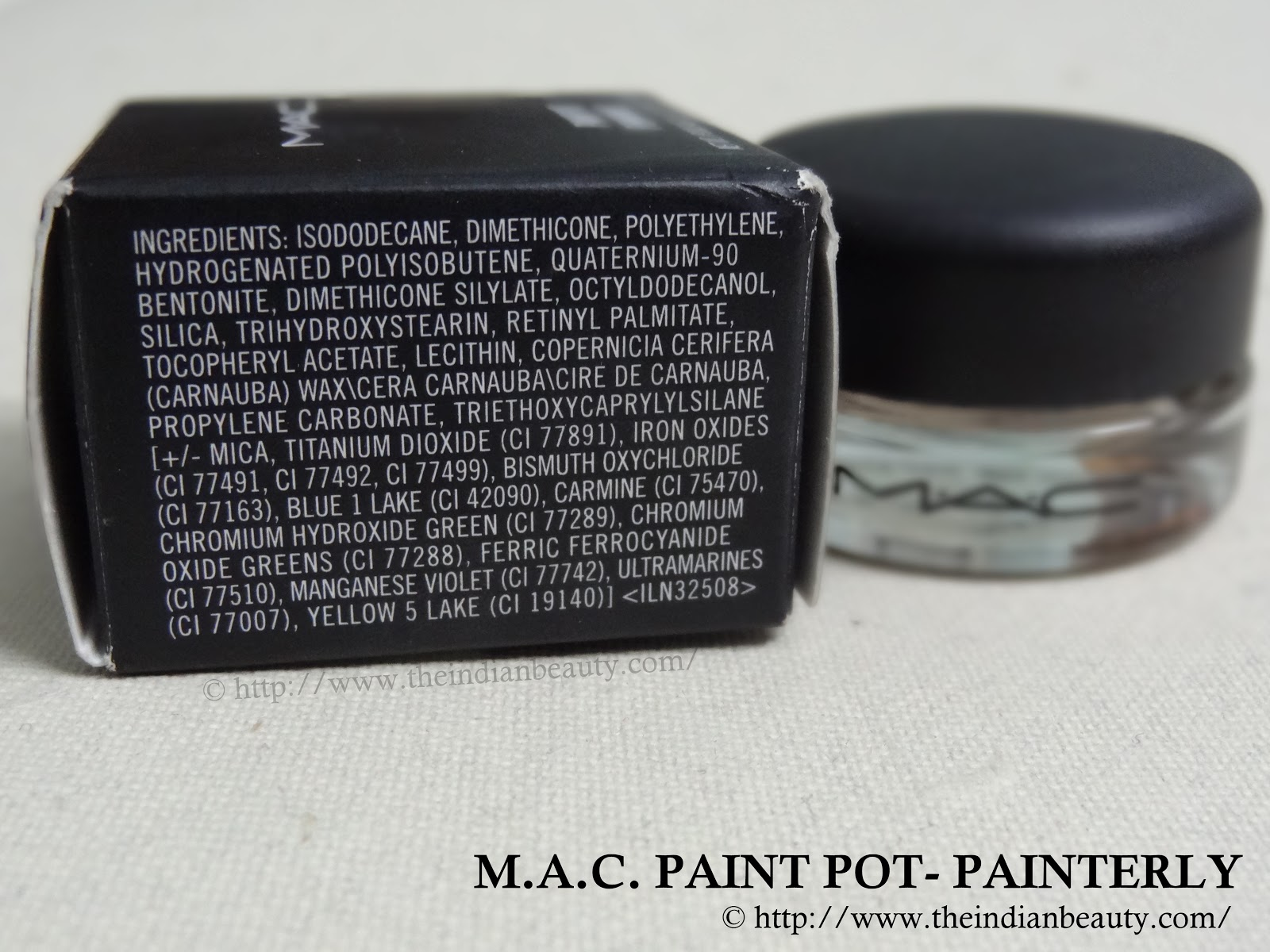 M.A.C. Paint Pot- Painterly: Review, swatches, demo - The Indian ...