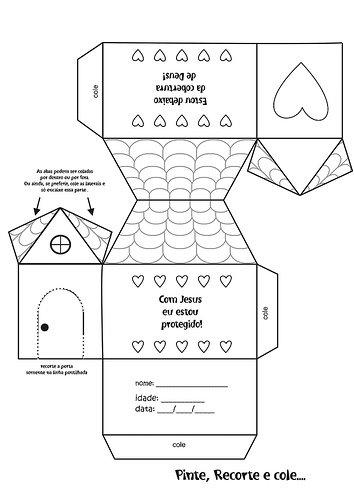 Moldes De Casas Para Maquete