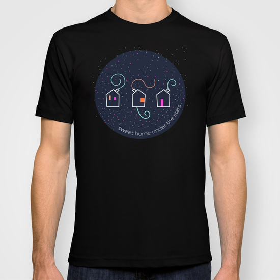"Camisetas Kinm Bernal ""Sweet home under the stars"""
