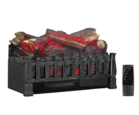 Duraflame Electric Log Set Insert Heater - 4600 BTU, 1350 Watts