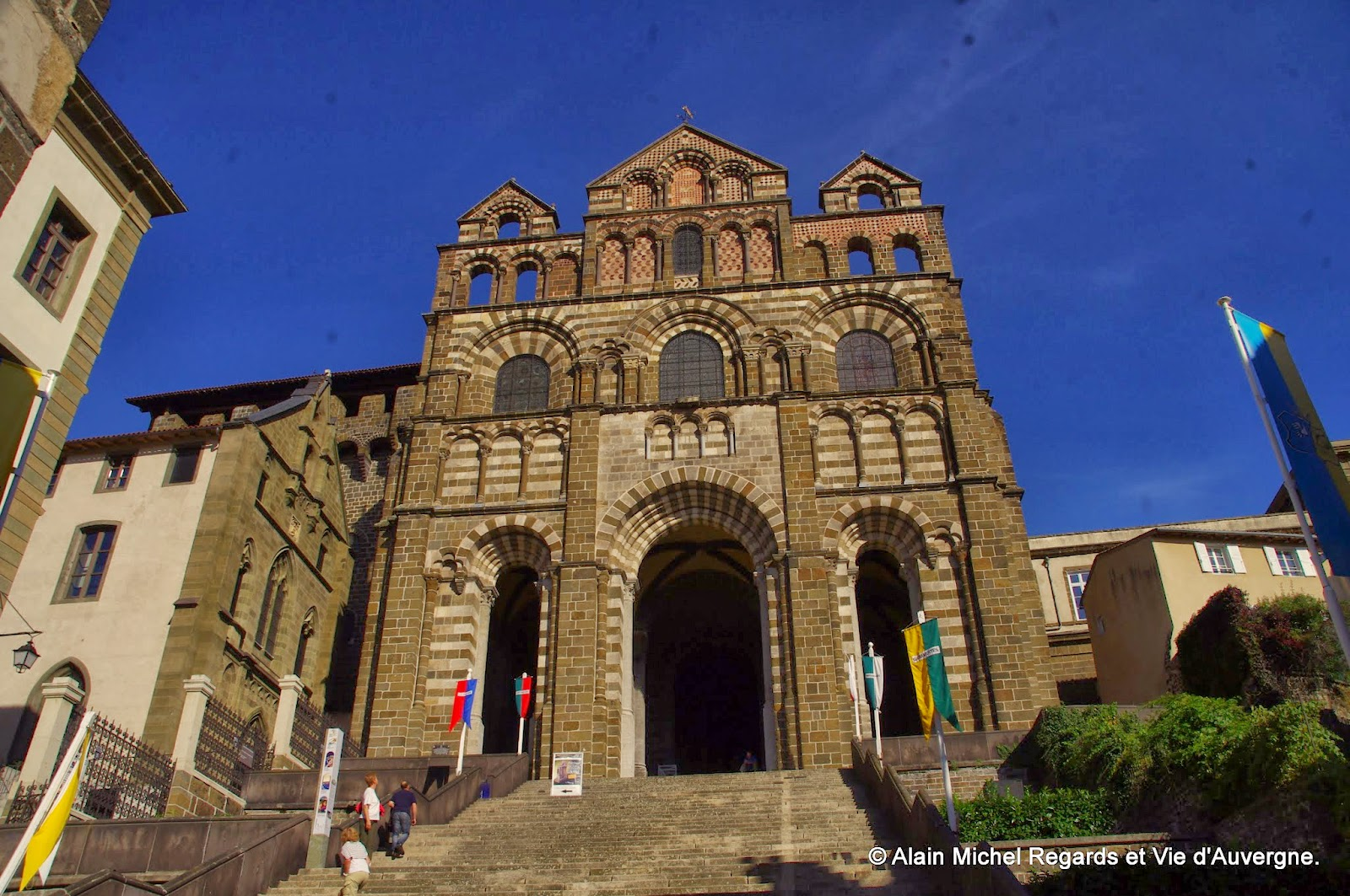 Le Puy Haute-Loire, cathédrale Notre Dame
