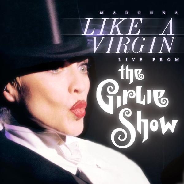 Madonna Like A Virgin Album Cover