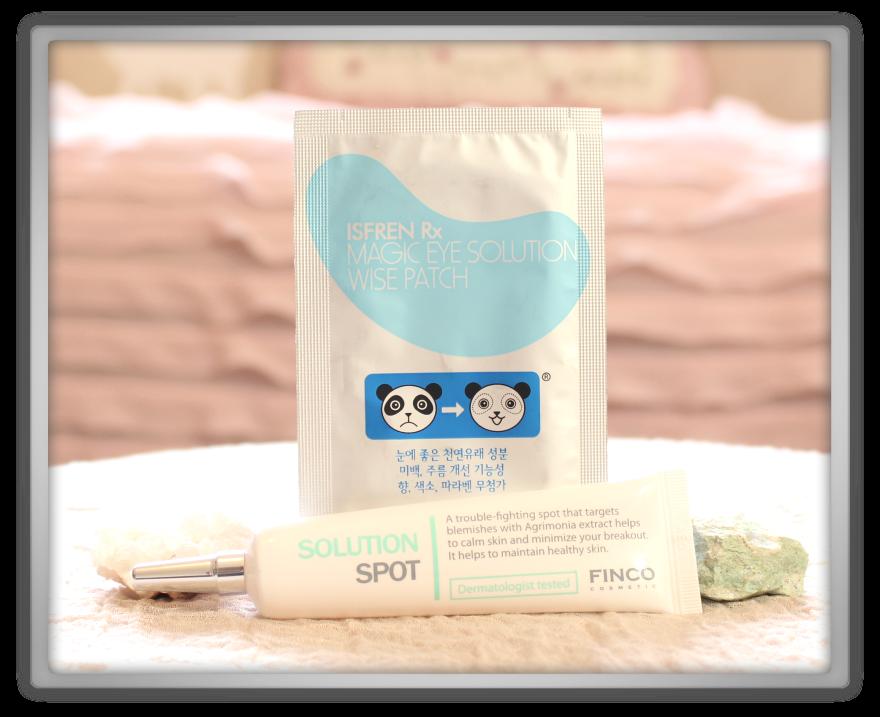 겟잇뷰티박스 by 미미박스 memebox beautybox Special #24 Brightening Skincare box unboxing review ispren eye patch finco solution spot
