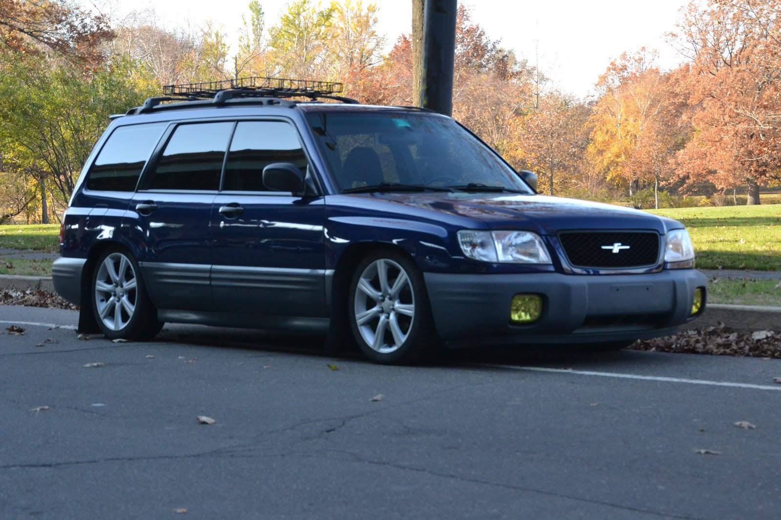 100 98 U002700 1998 Subaru Forester Lifted