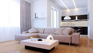 Ruang keluarga minimalis foto 1