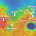 Selezionati otto siti finalisti per l'atterraggio del prossimo rover marziano della NASA