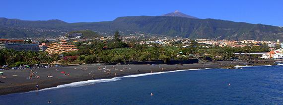 Playa jard n puerto de la cruz isla de tenerife v vela for Aparthotel jardin de playa