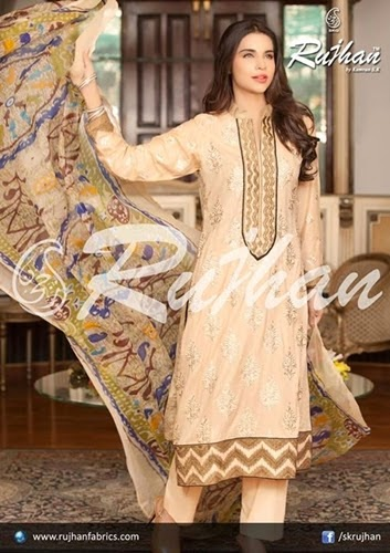 Rujhan Midsummer Semi Stitched Collection