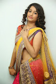 santoshini sharma photos in half saree-thumbnail-7